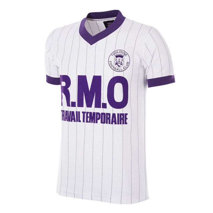 Toulouse FC 1983 - 84 Away Retro Football Shirt