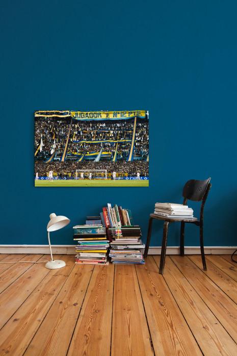 Boca Juniors Fankurve in deinen vier Wänden - 11FREUNDE BILDERWELT
