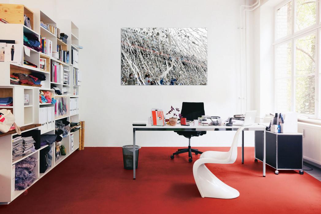 Fankurve Velez Sarsfield in deinem Büro - 11FREUNDE BILDERWELT