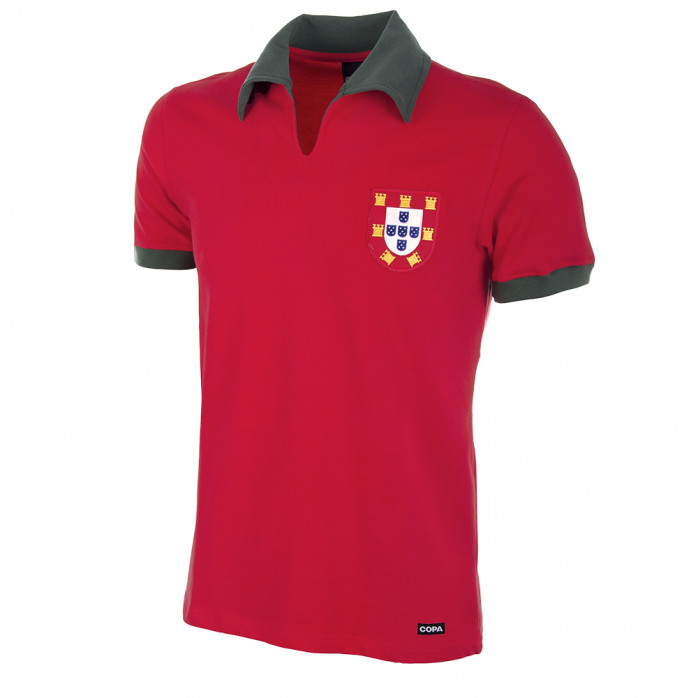 Portugal 1972 Short Sleeve Retro Football Shirt