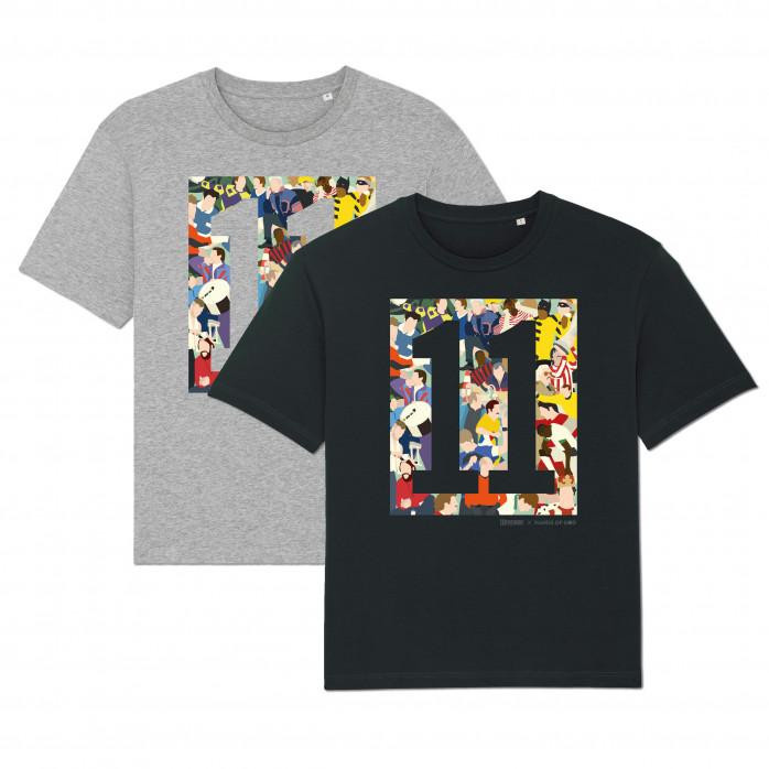 11FREUNDE Clash T-Shirt - Design: Hands Of God