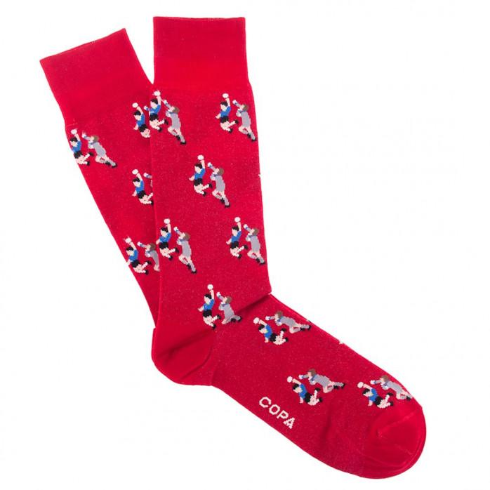 Hand of God Socks (red)