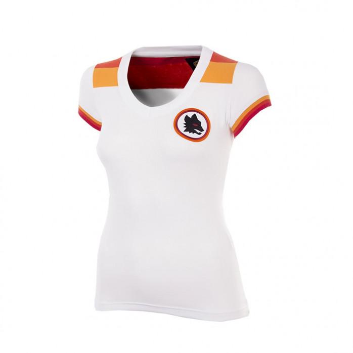 AS Roma 1978 - 79 Away Womens Short Sleeve Retro Football Shirt