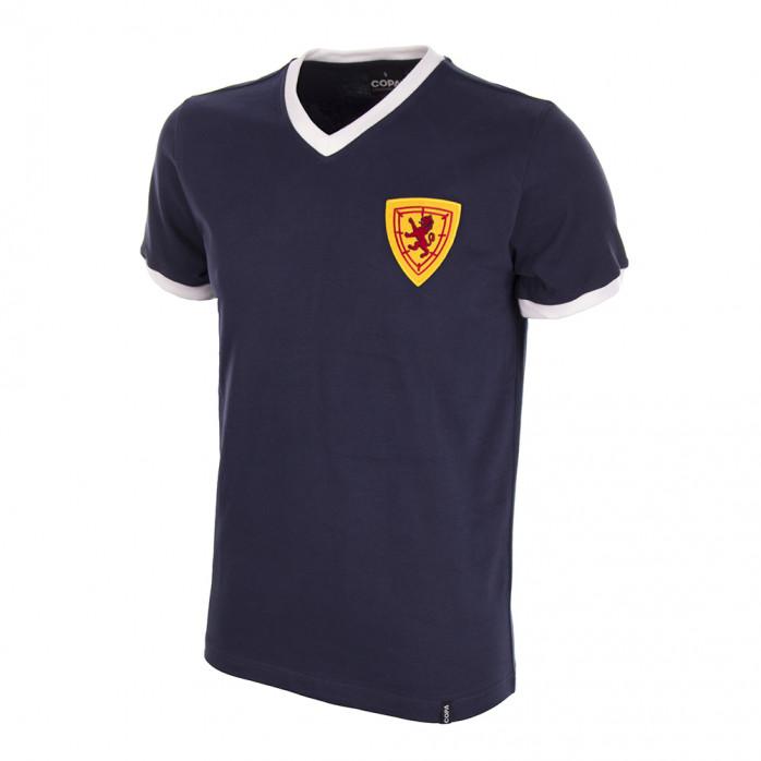 Scotland 1960's Short Sleeve Retro Football Shirt