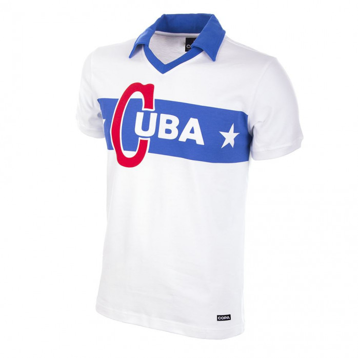 Cuba 1962 Castro Short Sleeve Retro Football Shirt - COPA Retroshirt - 11FREUNDE SHOP