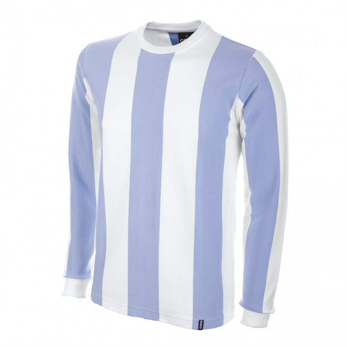 Argentina 1970's Long Sleeve Retro Football Shirt