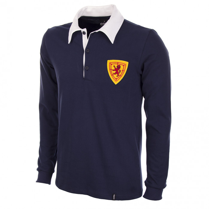Scotland 1950's Long Sleeve Retro Football Shirt