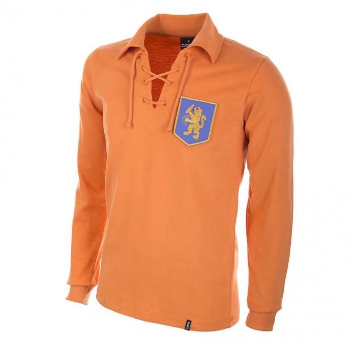 Holland 1950's Long Sleeve Retro Football Shirt