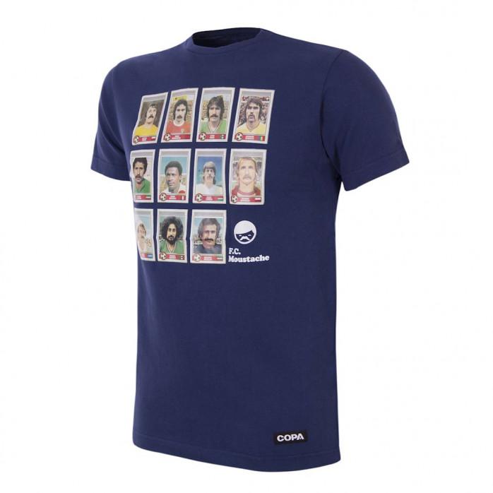 Moustache Dream Team T-Shirt (blue)