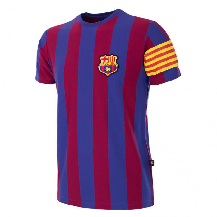 FC Barcelona Captain Retro T-Shirt | Blaugrana