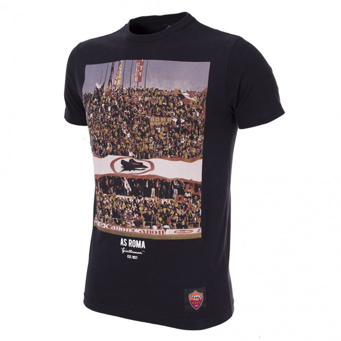 AS Roma Tifosi T-Shirt | Black
