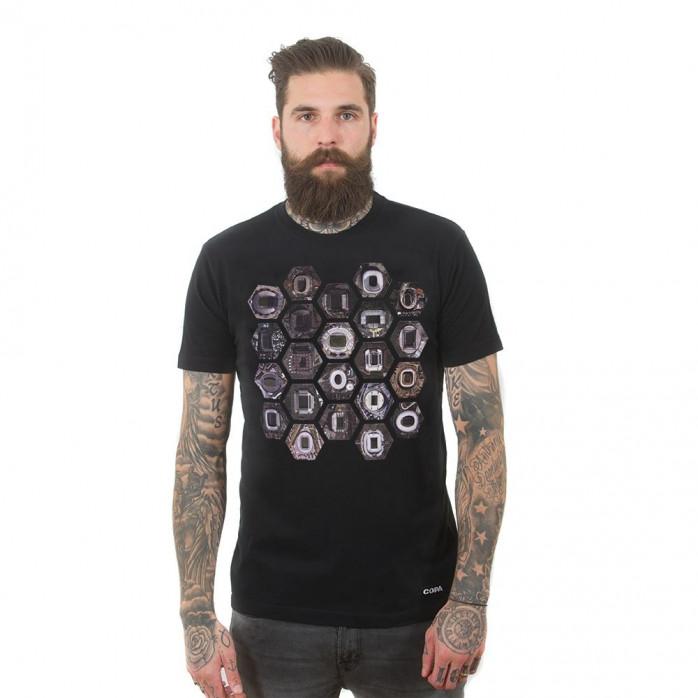 Hexagon Stadium T-Shirt | Black