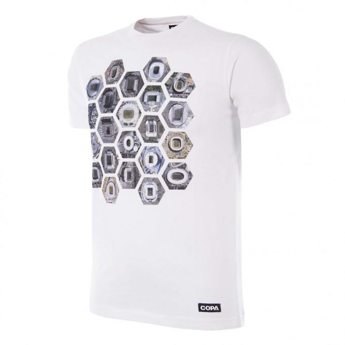 Hexagon Stadium T-Shirt   White
