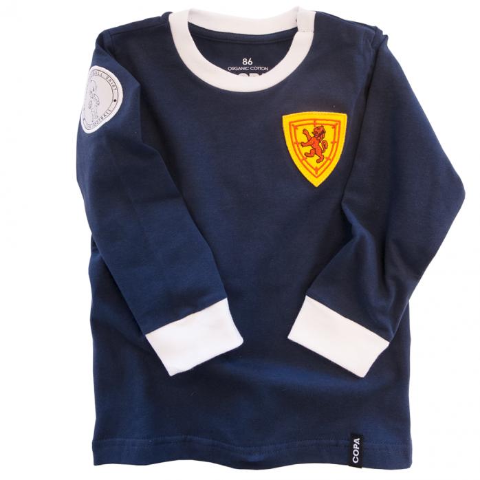 Scotland 'My First Football Shirt' Long Sleeve