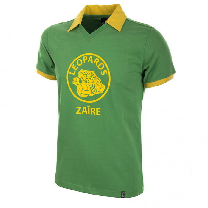 Zaïre World Cup 1974 Short Sleeve Retro Football Shirt - COPA Retrotrikot - 11FREUNDE SHOP