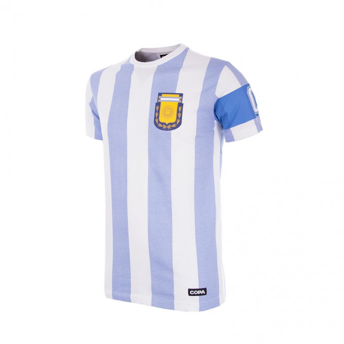 Argentina Kids Shirts. Argentina's youth system is known for producing, scouting and developing youth talent and turning them into stars. Lionel Messi and Diego Maradona both began their careers at Newell's Old Boys and Argentinos Juniors.