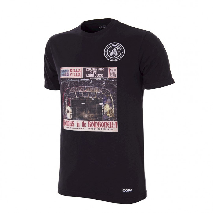 Death at the Derby - Bombs in the Bombonera T-Shirt
