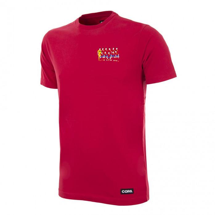 Spain 2012 European Champions Embroidery T-Shirt