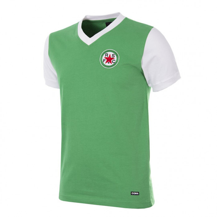 Red Star F.C. 1970's Short Sleeve Retro Football Shirt