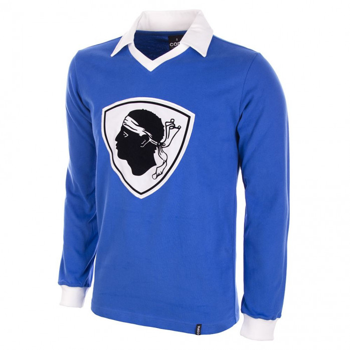 Bastia 1977 / 1978 Long Sleeve Retro Football Shirt