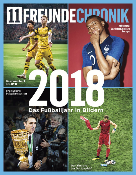 11FREUNDE Chronik 2018