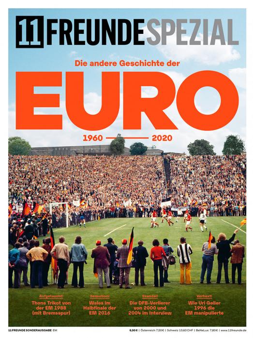 11FREUNDE SPEZIAL - Die andere Geschichte der EURO - Heft bestellen