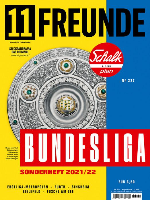11FREUNDE Ausgabe #237 - Bundesliga-Sonderheft 2021/22