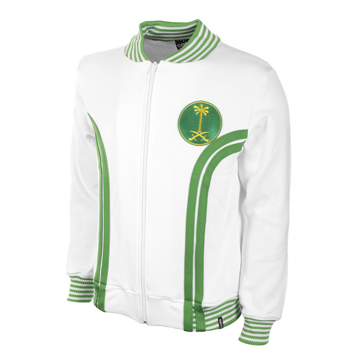 Saudi Arabia 1985 Retro Football Jacket