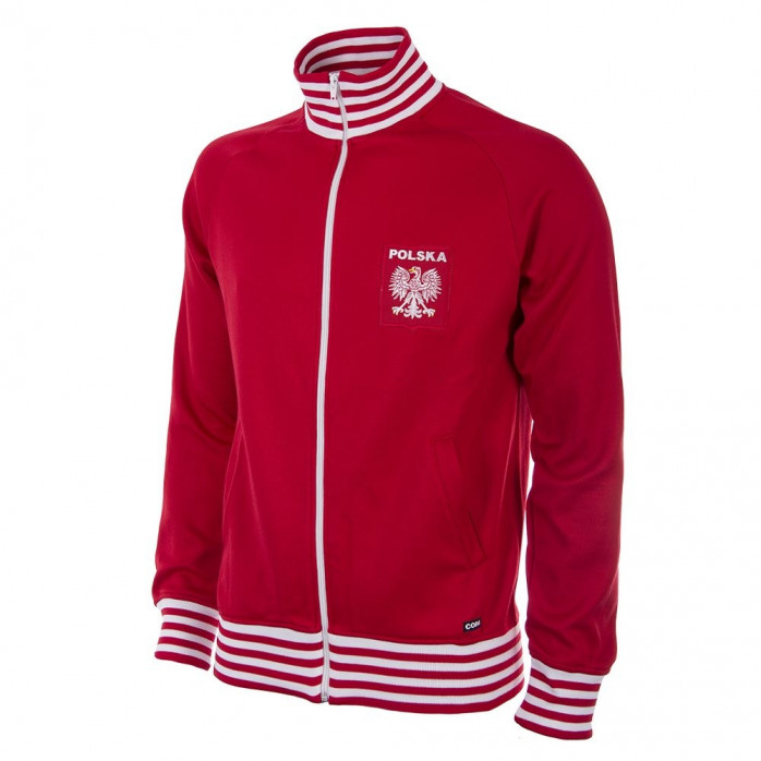 Poland 1980 Retro Football Jacket