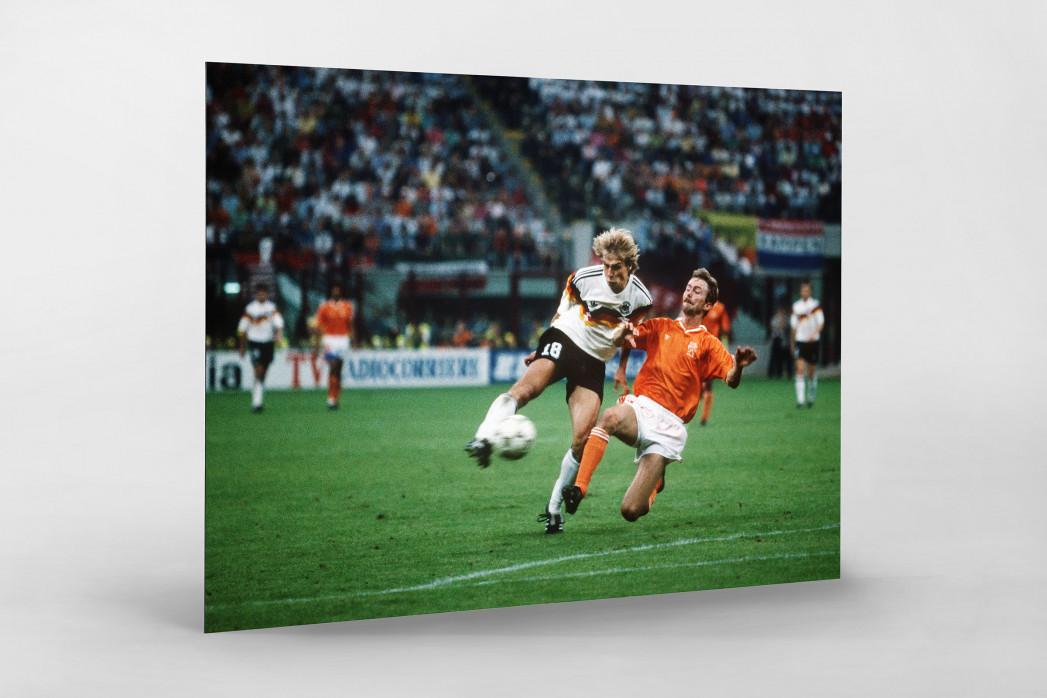 Klinsmann gegen Holland (2) als auf Alu-Dibond kaschierter Fotoabzug