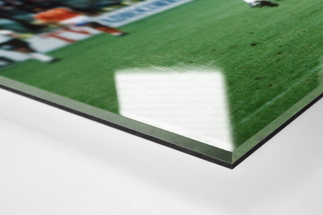 Klinsmann gegen Holland (2) als Direktdruck auf Alu-Dibond hinter Acrylglas (Detail)