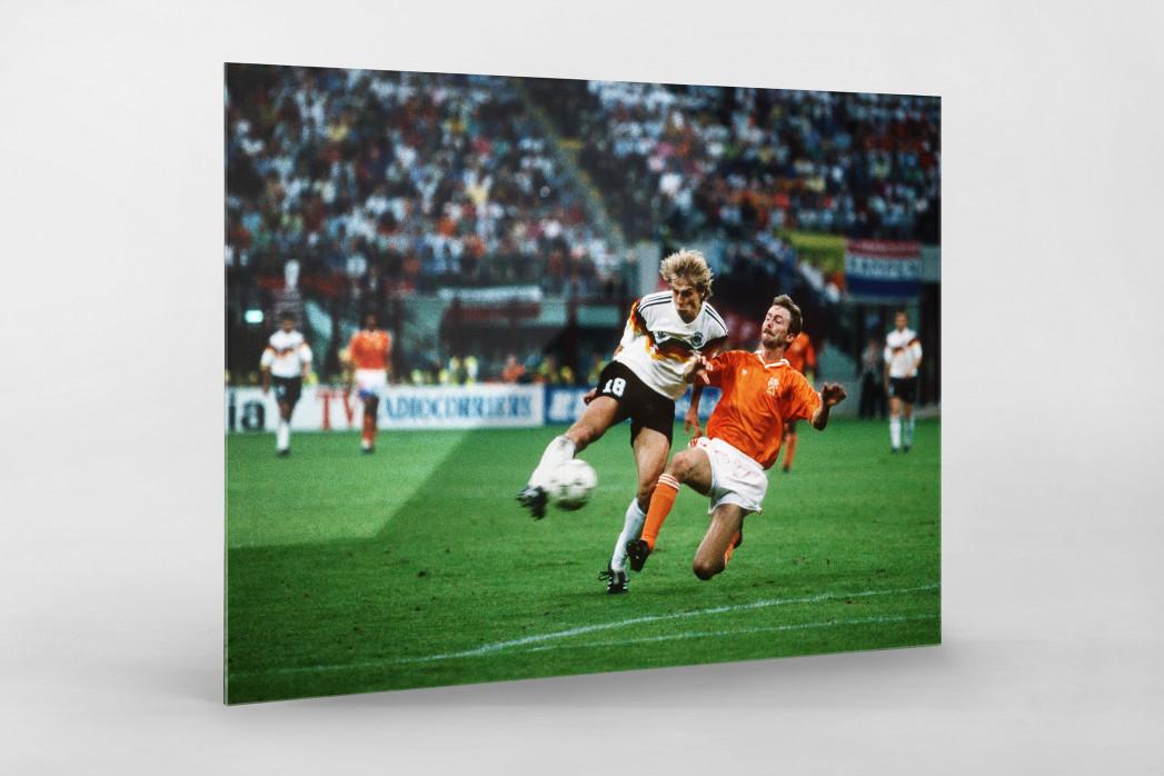 Klinsmann gegen Holland (2) als Direktdruck auf Alu-Dibond hinter Acrylglas