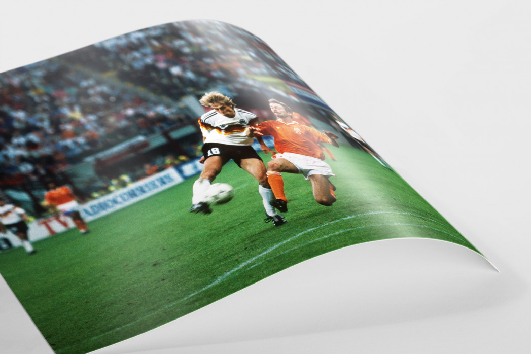 Klinsmann gegen Holland (2) als FineArt-Print