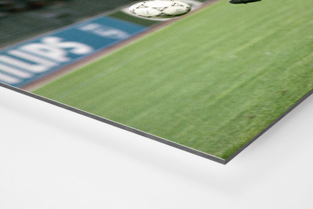 Lothar gegen England als auf Alu-Dibond kaschierter Fotoabzug (Detail)