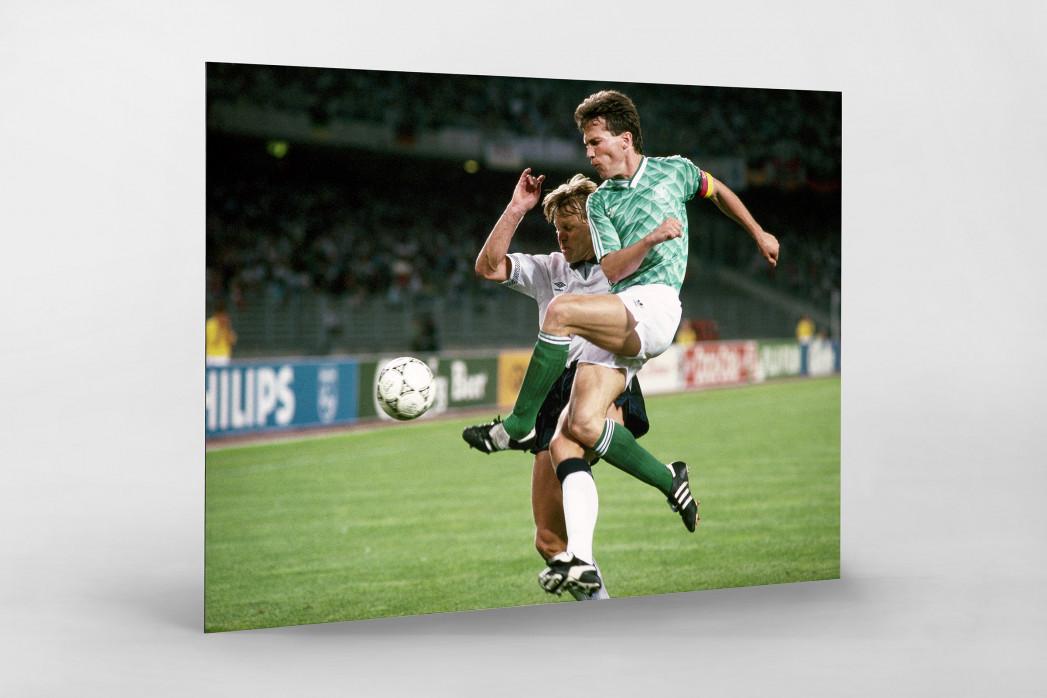 Lothar gegen England als auf Alu-Dibond kaschierter Fotoabzug