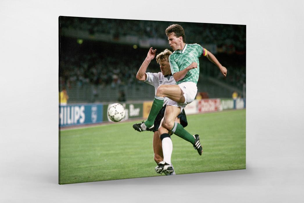 Lothar gegen England als Leinwand auf Keilrahmen gezogen