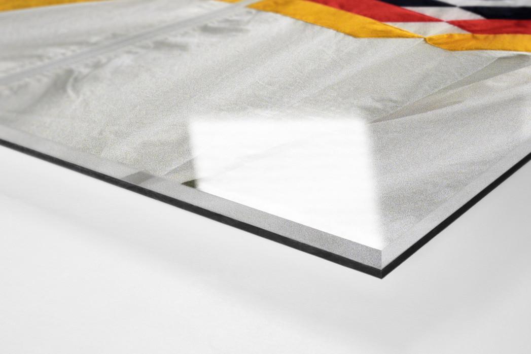 Rudi Nazionale als Direktdruck auf Alu-Dibond hinter Acrylglas (Detail)