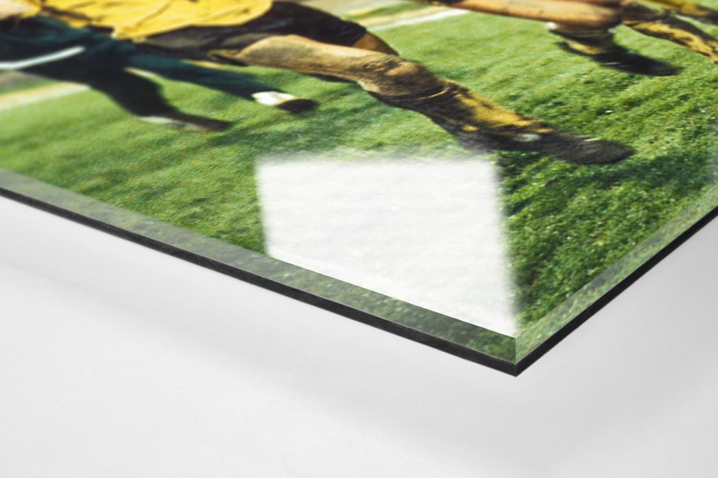 Aachener Jubelrunde als Direktdruck auf Alu-Dibond hinter Acrylglas (Detail)