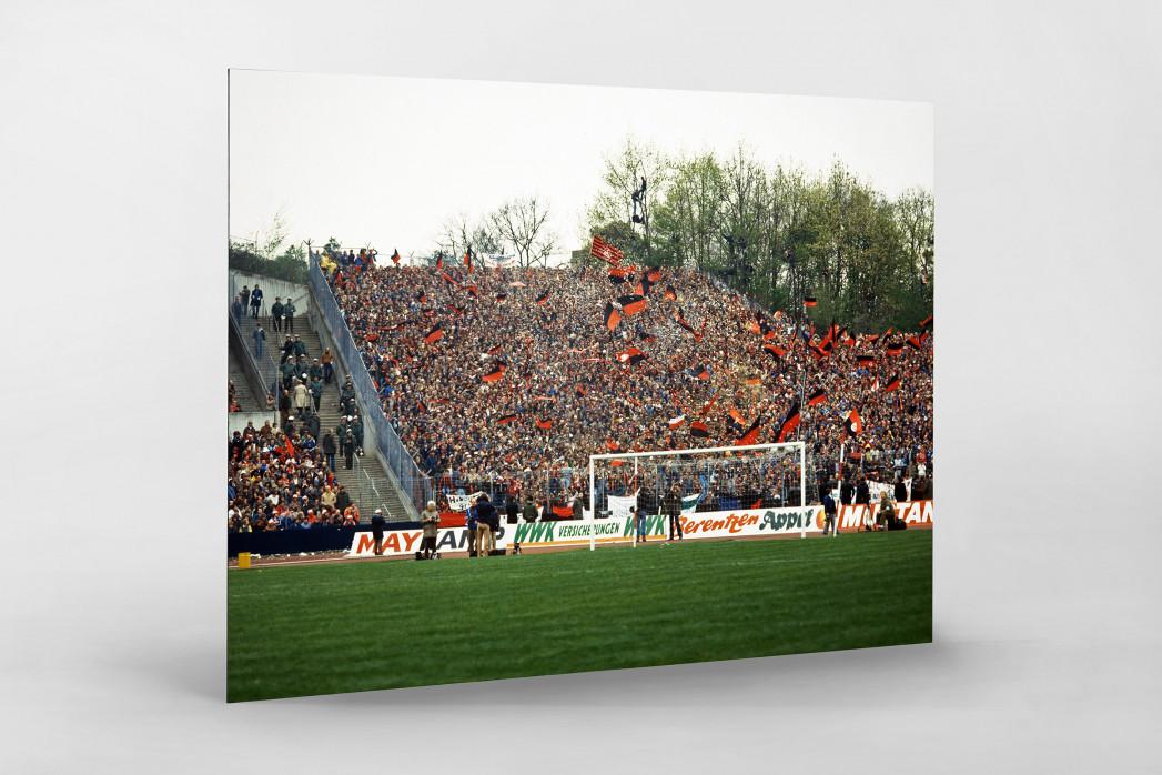 Club Fans 1982 (1) als auf Alu-Dibond kaschierter Fotoabzug