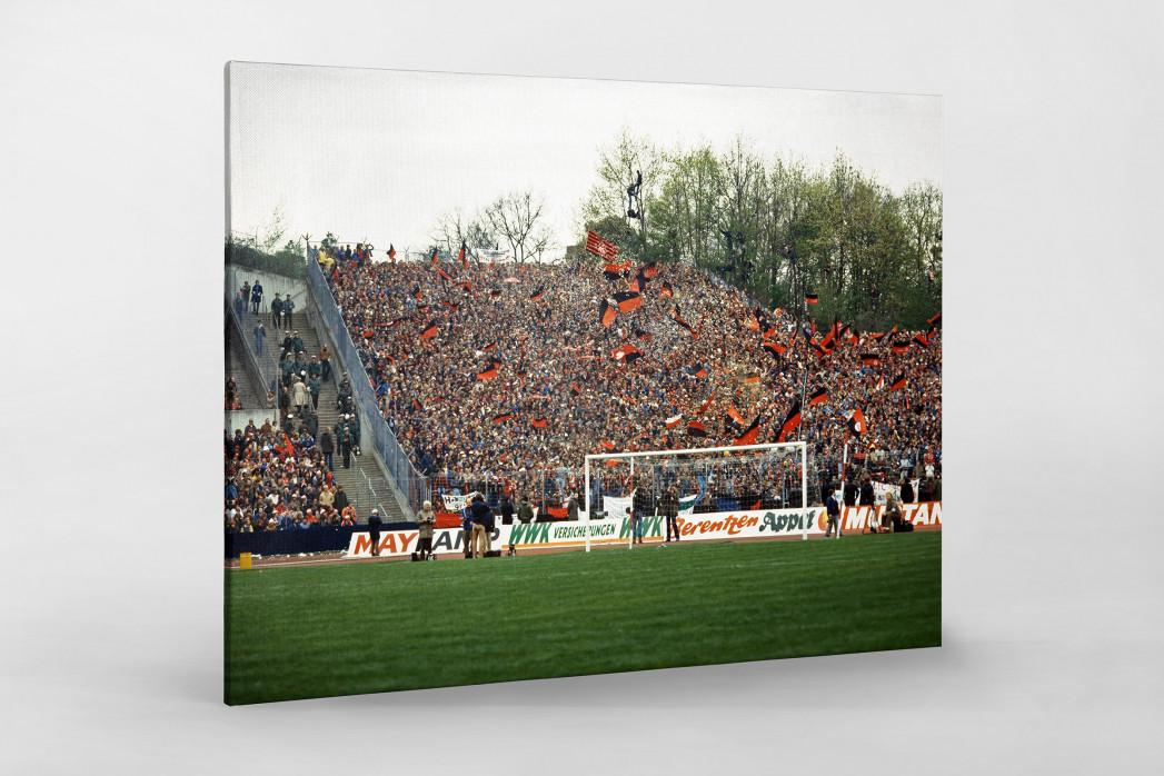Club Fans 1982 (1) als Leinwand auf Keilrahmen gezogen