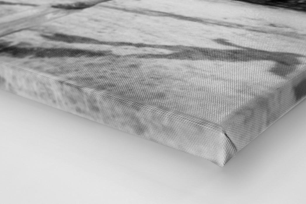 Ballartist als Leinwand auf Keilrahmen gezogen (Detail)