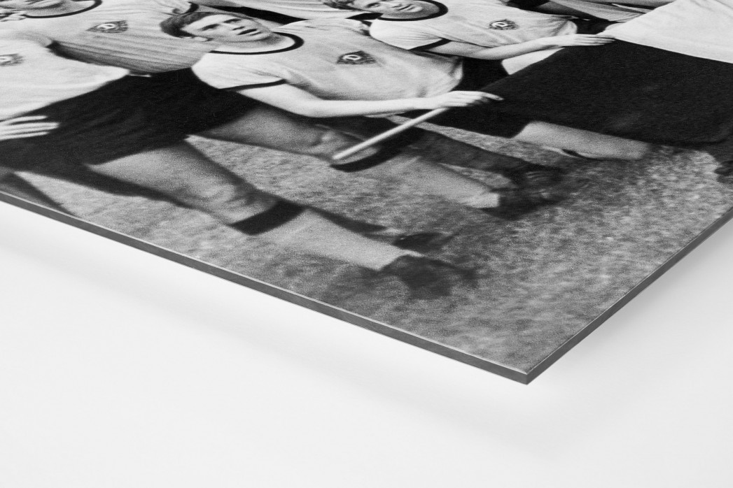 Dresdens Meister 1971 als auf Alu-Dibond kaschierter Fotoabzug (Detail)
