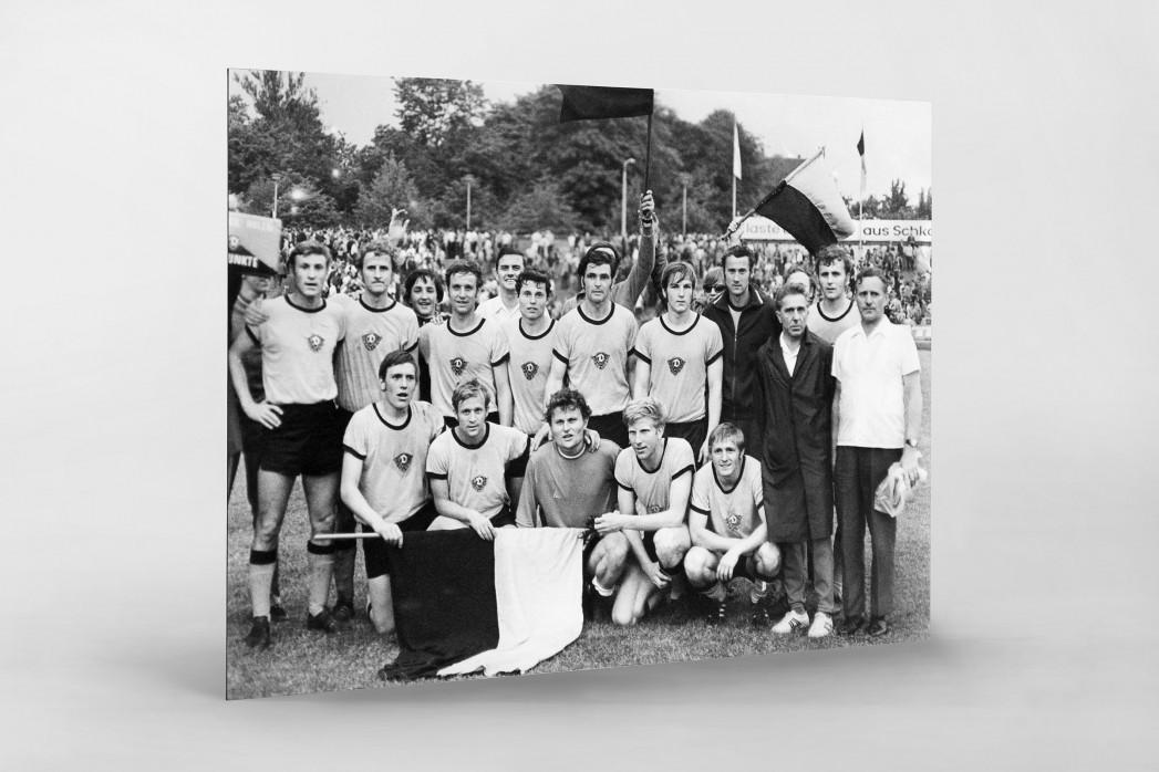 Dresdens Meister 1971 als auf Alu-Dibond kaschierter Fotoabzug