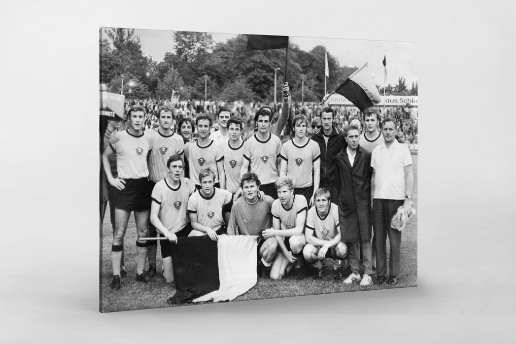 Dresdens Meister 1971 als Leinwand auf Keilrahmen gezogen