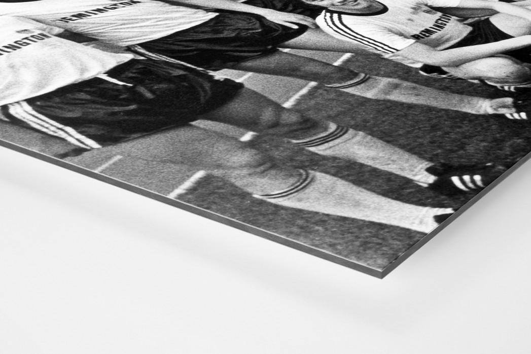 Frankfurter Pokaljubel als auf Alu-Dibond kaschierter Fotoabzug (Detail)