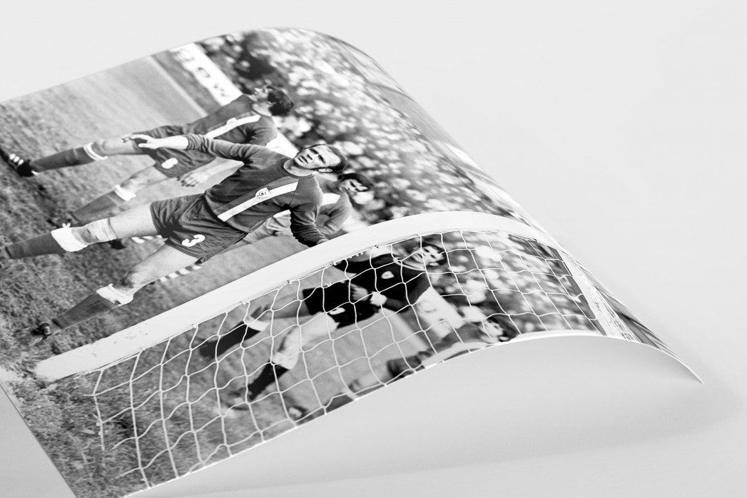 Urbanczyk am kurzen Pfosten als FineArt-Print