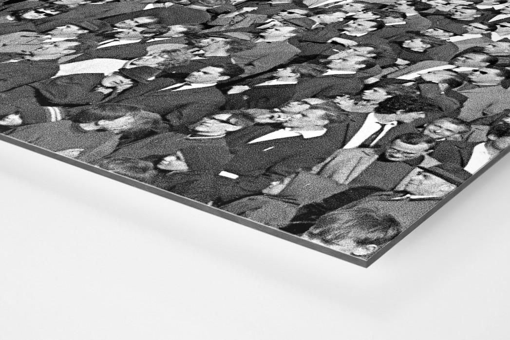 Hannover Fans 1967 als auf Alu-Dibond kaschierter Fotoabzug (Detail)