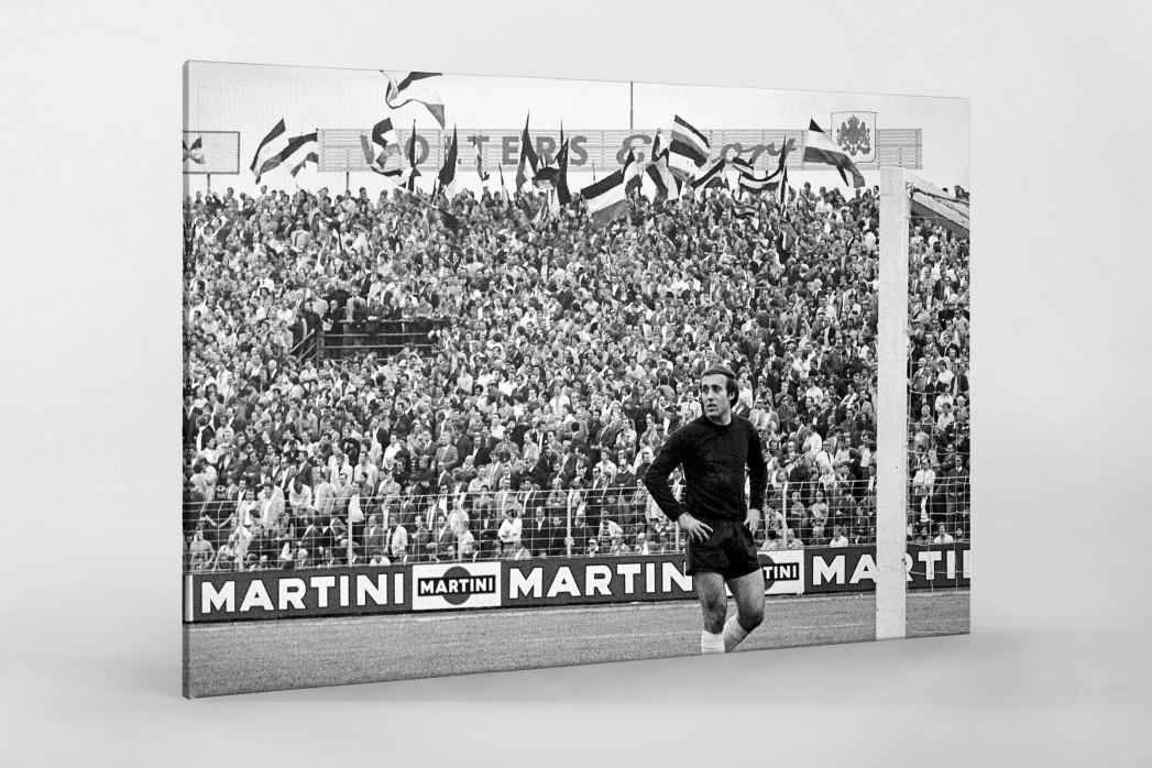 Hannover Fans 1971 als Leinwand auf Keilrahmen gezogen