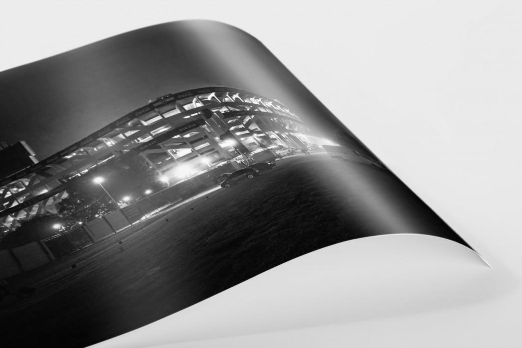La Bombonera (Außenansicht) als FineArt-Print