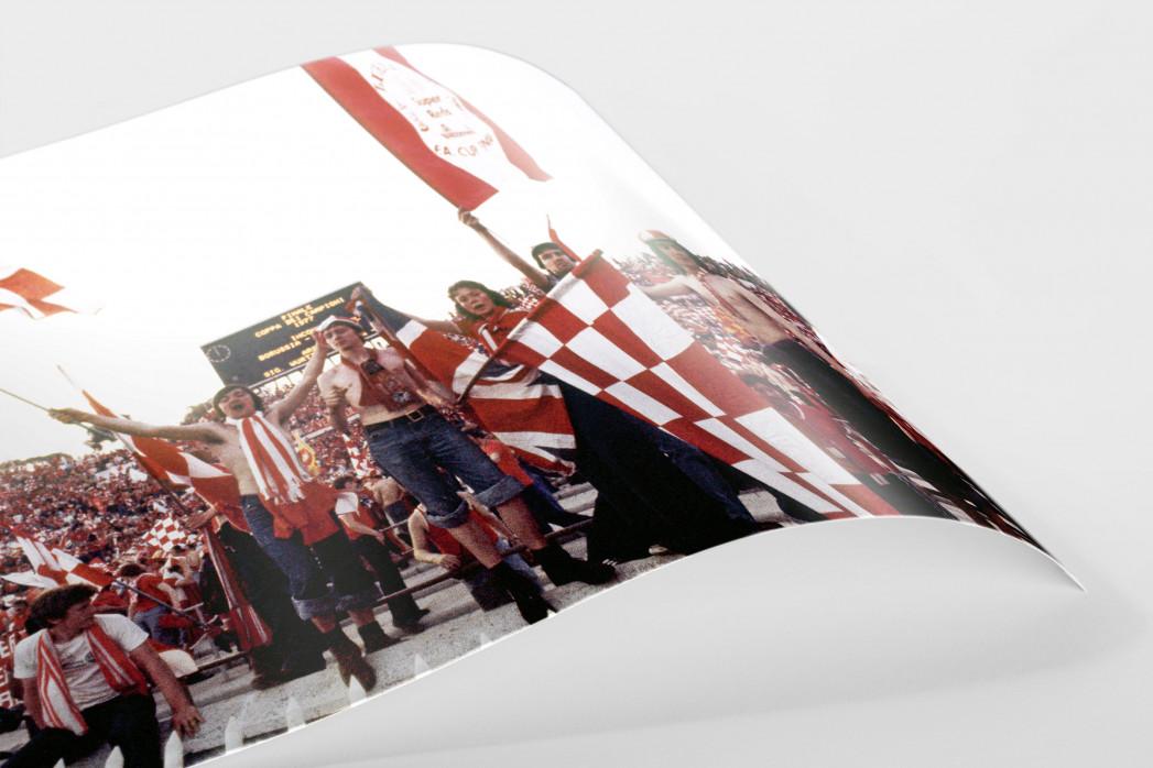 Liverpool Fans 1977 (1) als FineArt-Print